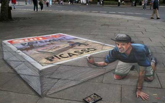 amazing art 12 in 3D Street Art on the Pavements Around the World