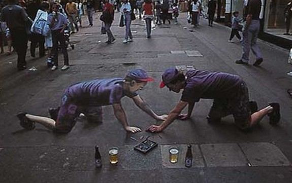 amazing art 14 in 3D Street Art on the Pavements Around the World