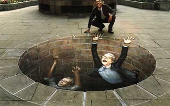 amazing art 15 in 3D Street Art on the Pavements Around the World