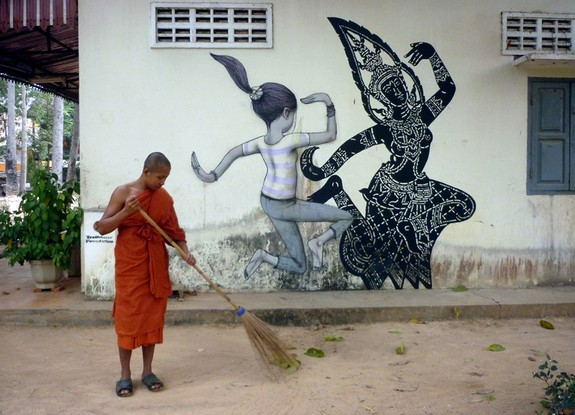 amazing examples of street art 02 in Top 10 Most Amazing Examples of Street Art