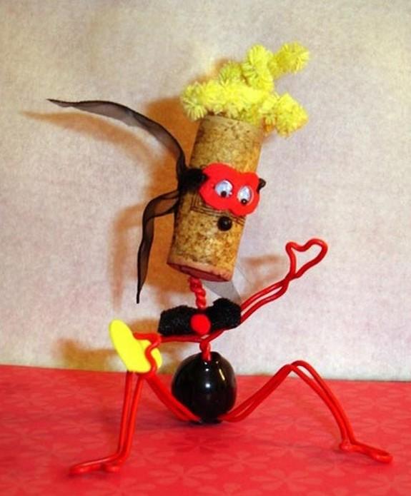 cork heads 11 in Cork Head Art