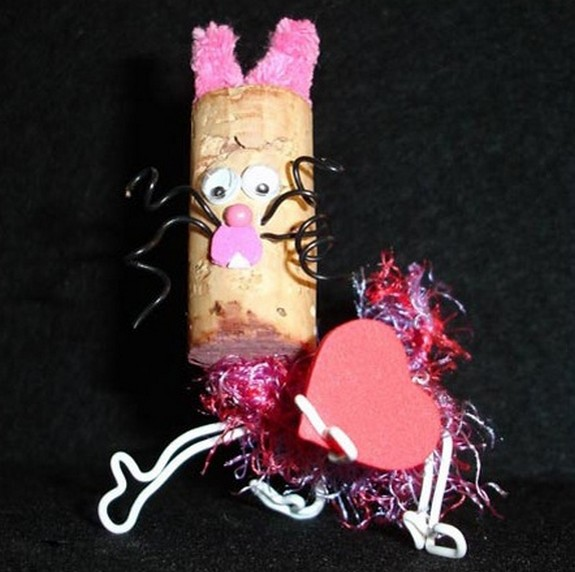 cork heads 15 in Cork Head Art