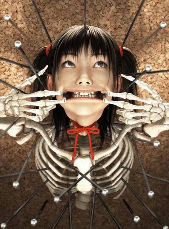 extreme japanese art 10 in Extreme Japanese Art; Evoking Human Emotions