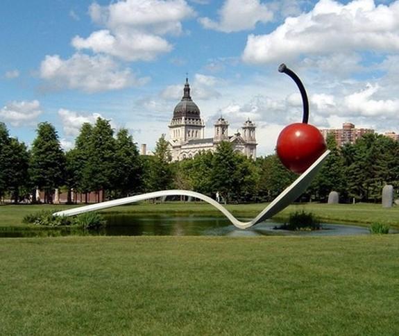 giant sculptures 02 in Giant Sculptures by Claes Oldenburg