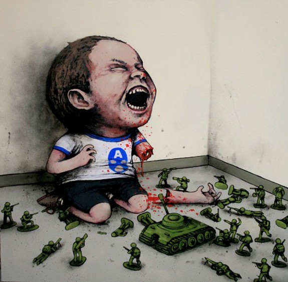 the french banksy 01 in The French Banksy: Incredible Works of Artist Dran