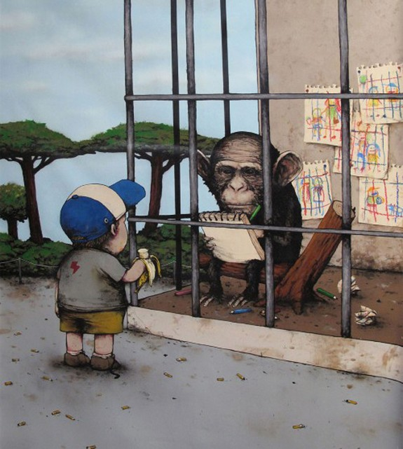 the french banksy 03 in The French Banksy: Incredible Works of Artist Dran