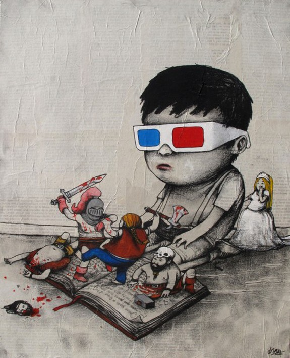 the french banksy 05 in The French Banksy: Incredible Works of Artist Dran