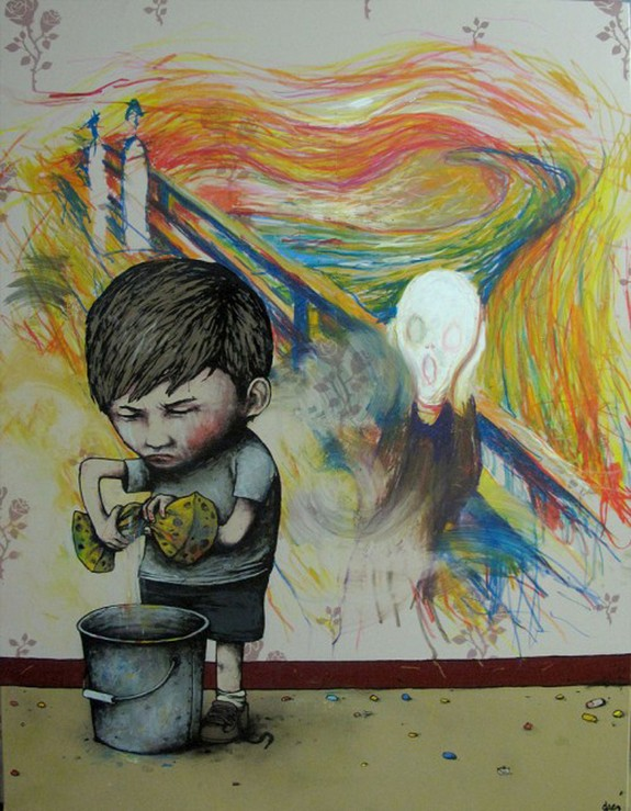 the french banksy 06 in The French Banksy: Incredible Works of Artist Dran