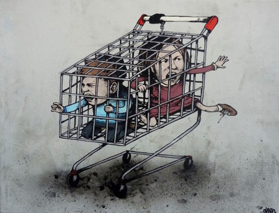 the french banksy 07 in The French Banksy: Incredible Works of Artist Dran