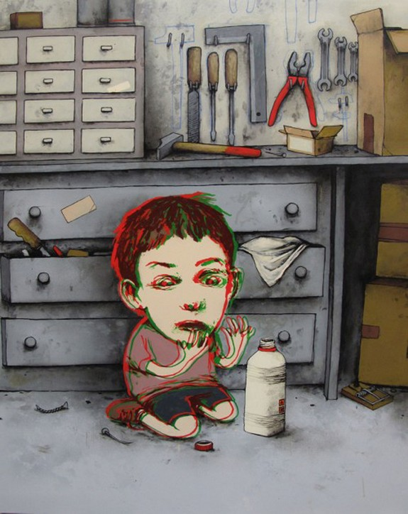 the french banksy 10 in The French Banksy: Incredible Works of Artist Dran