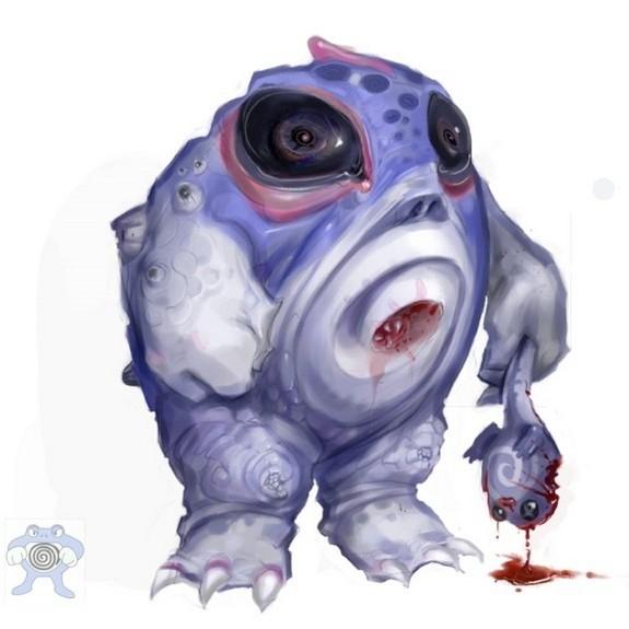pokemon redesigns will haun ytour nightmares 07 in Pokemon Redesigns Will Haunt Your Nightmares