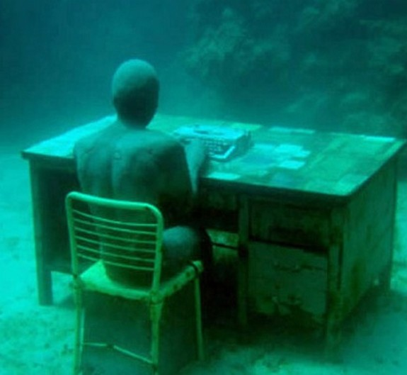 underwater sculpture park 02 in Underwater Sculpture Park