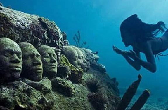 underwater sculpture park 05 in Underwater Sculpture Park