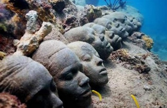 underwater sculpture park 06 in Underwater Sculpture Park