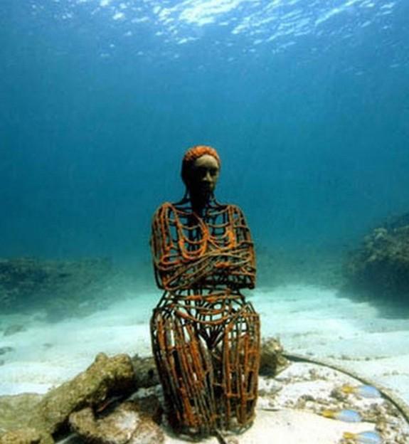 underwater sculpture park 08 in Underwater Sculpture Park