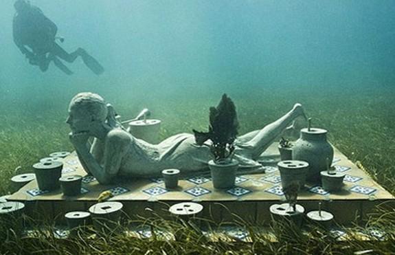 underwater sculpture park 09 in Underwater Sculpture Park