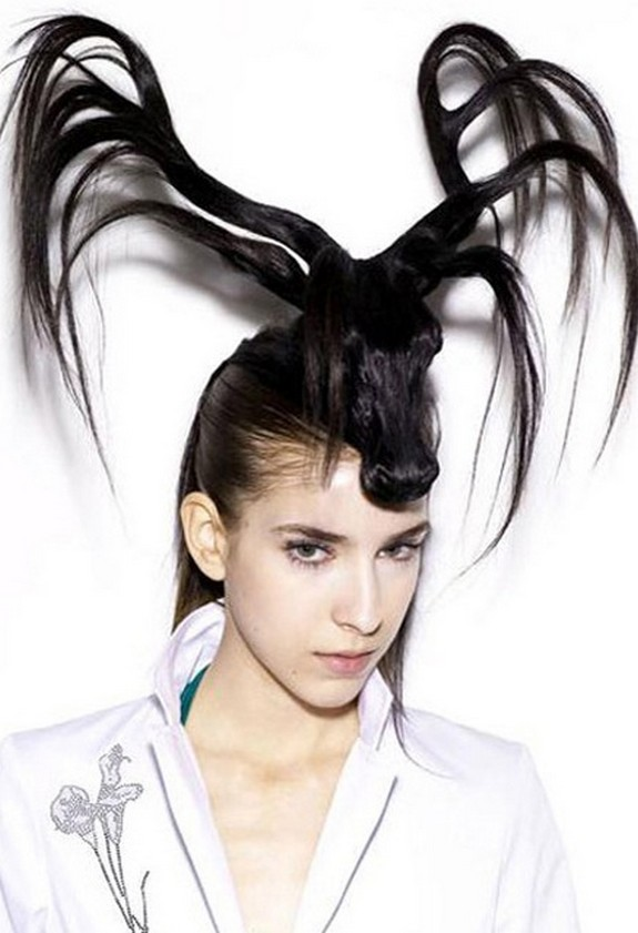 hair sculptures 01 in Top 10 Amazing Hair Sculptures