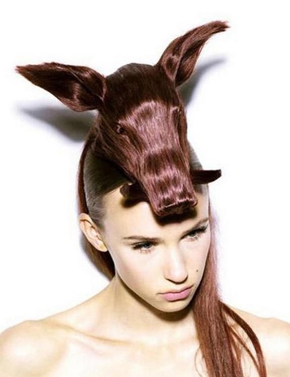 hair sculptures 02 in Top 10 Amazing Hair Sculptures