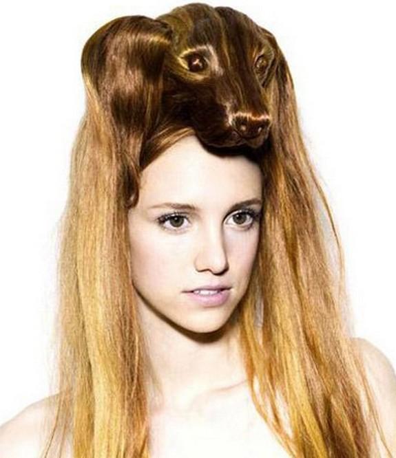 hair sculptures 05 in Top 10 Amazing Hair Sculptures