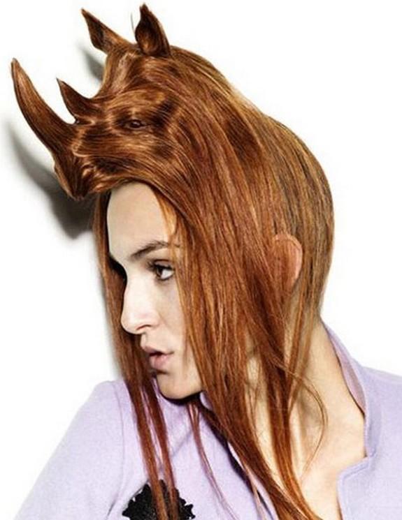 hair sculptures 06 in Top 10 Amazing Hair Sculptures