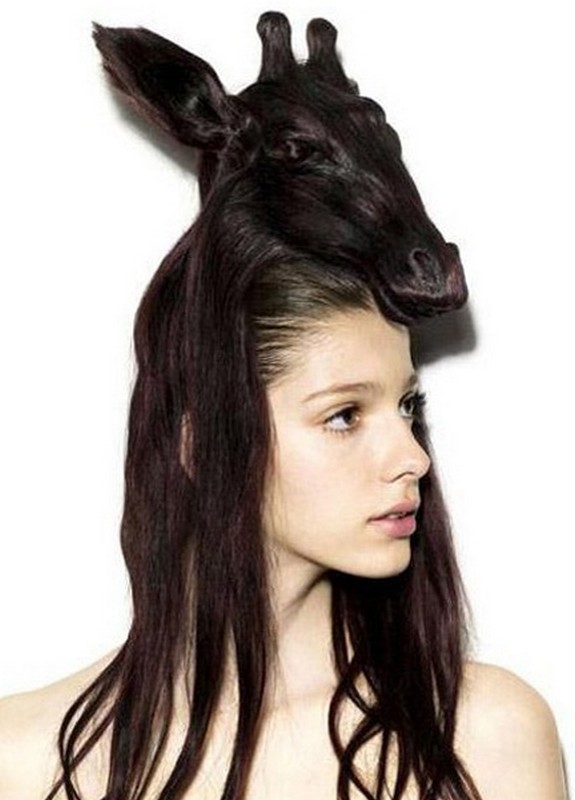 hair sculptures 09 in Top 10 Amazing Hair Sculptures