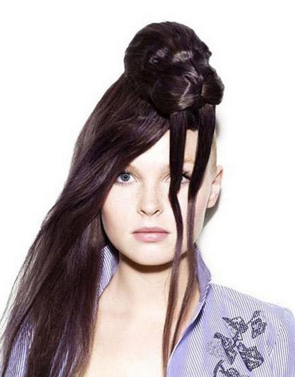 hair sculptures 10 in Top 10 Amazing Hair Sculptures