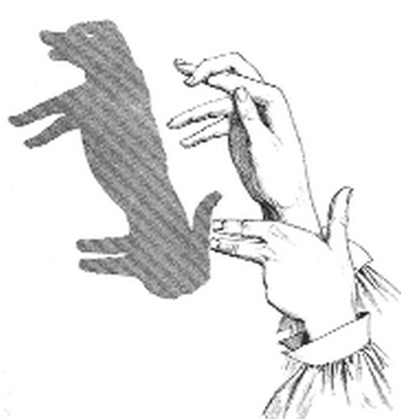 hand shadow illusions 06 in Find Out How to Make 10 Coolest Hand Shadow Illusions