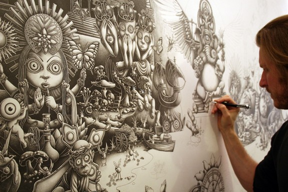 10 mind blowing mega size drawings by joe fenton 01 in 10 Mind Blowing Mega Size Drawings by Joe Fenton