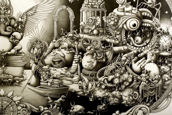 10 mind blowing mega size drawings by joe fenton 04 in 10 Mind Blowing Mega Size Drawings by Joe Fenton