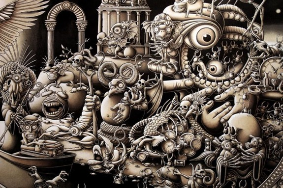 10 mind blowing mega size drawings by joe fenton 07 in 10 Mind Blowing Mega Size Drawings by Joe Fenton