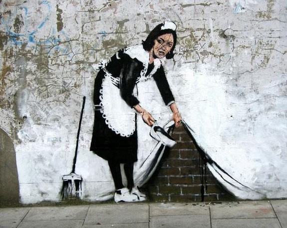 top 10 beautiful street art 02 in Top 10 Beautiful Street Art by Banksy