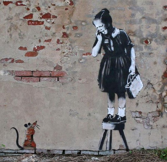 top 10 beautiful street art 07 in Top 10 Beautiful Street Art by Banksy