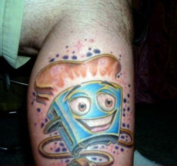 unusual tattos 03 in Top 10 Most Unusual Tattoos Ever