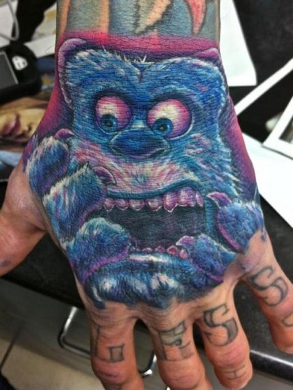 unusual tattos 04 in Top 10 Most Unusual Tattoos Ever
