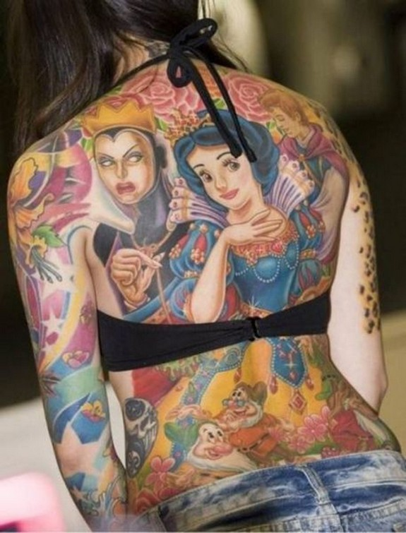 unusual tattos 05 in Top 10 Most Unusual Tattoos Ever