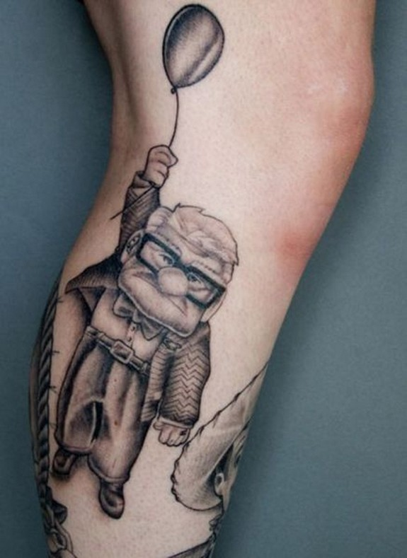 unusual tattos 09 in Top 10 Most Unusual Tattoos Ever