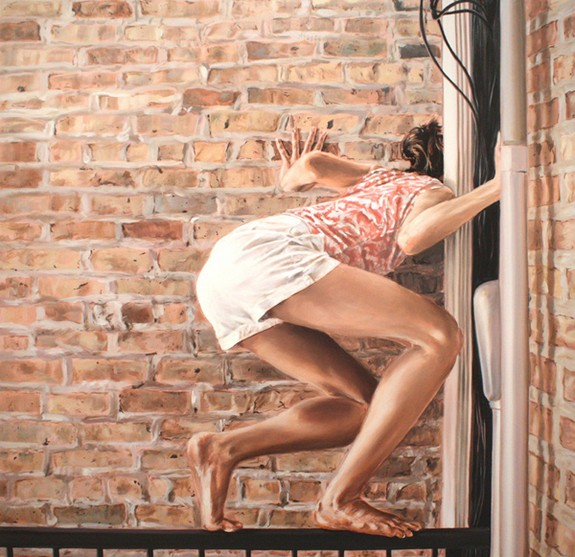 beautiful drawings of girls 09 in Re imagining of Everyday Life in Paintings