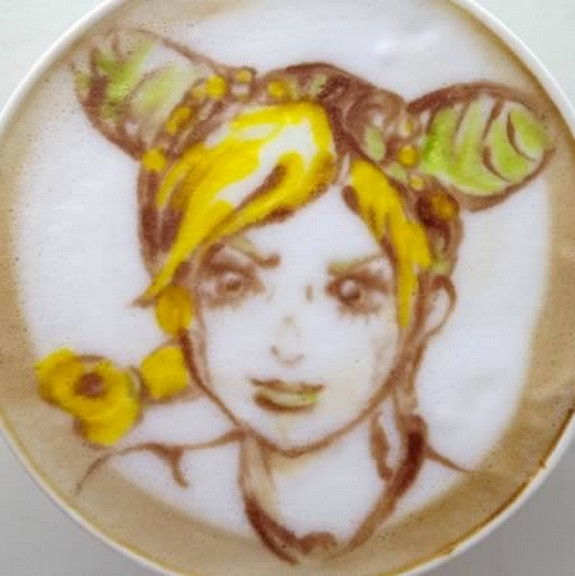 coolest pieces of latte art 01 in Latte Art for Good Start of Your Day