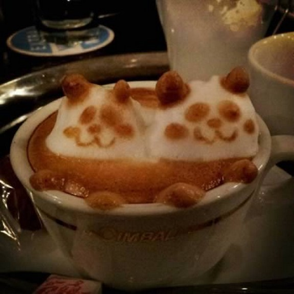 coolest pieces of latte art 04 in Latte Art for Good Start of Your Day