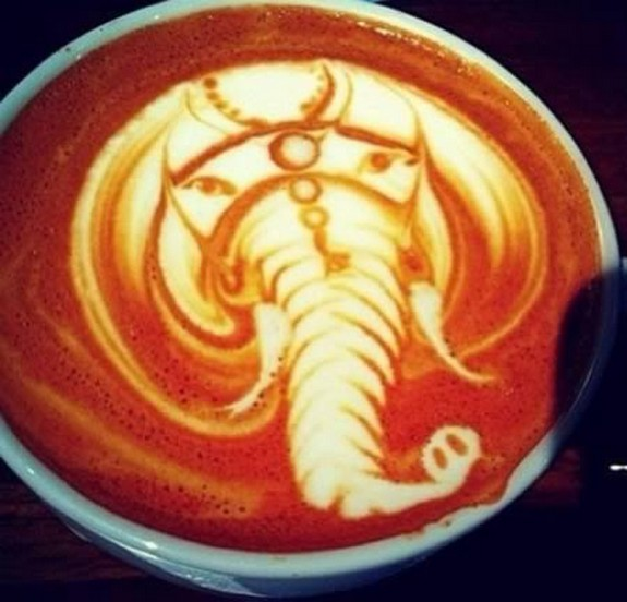 coolest pieces of latte art 05 in Latte Art for Good Start of Your Day