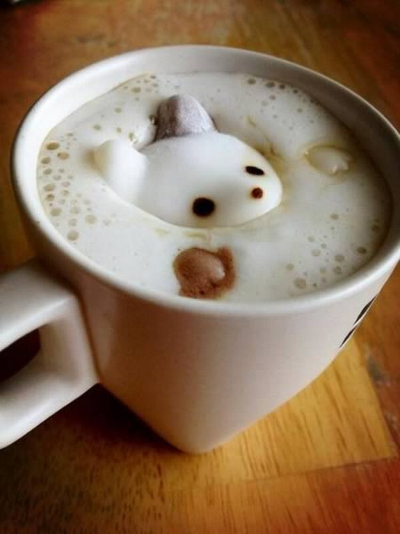 coolest pieces of latte art 09 in Latte Art for Good Start of Your Day