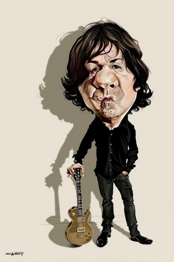 the 10 brilliant celebrity caricatures 02 in The 10 Most Amazing Celebrity Caricatures