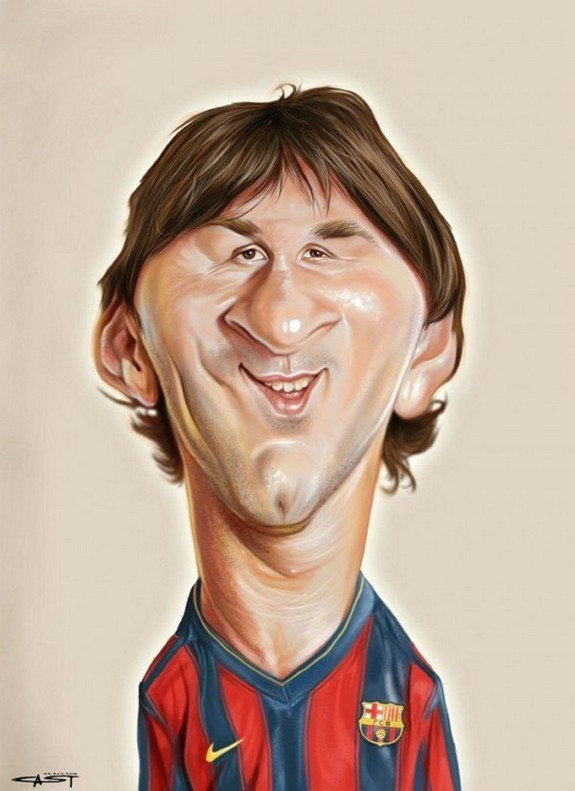 the 10 brilliant celebrity caricatures 04 in The 10 Most Amazing Celebrity Caricatures